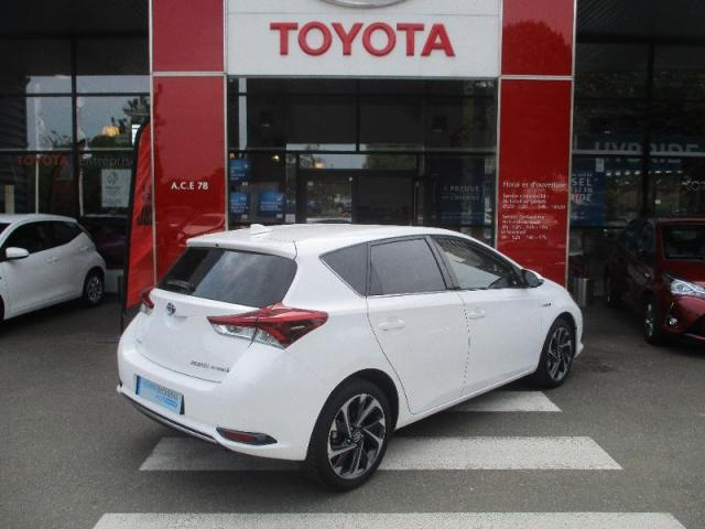 voiture occasion toyota auris hsd 136h design 2016 hybride 78114 magny les hameaux yvelines. Black Bedroom Furniture Sets. Home Design Ideas
