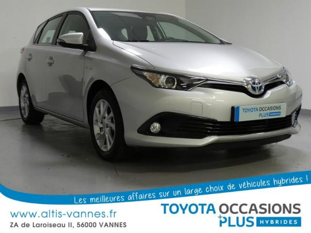 voiture occasion toyota auris hsd 136h dynamic 2016 hybride 56000 vannes morbihan votreautofacile. Black Bedroom Furniture Sets. Home Design Ideas