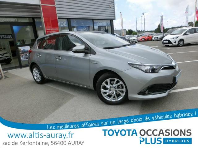 voiture occasion toyota auris hsd 136h dynamic 2016 hybride 56400 pluneret morbihan. Black Bedroom Furniture Sets. Home Design Ideas
