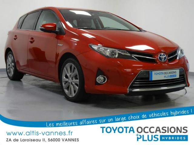 voiture occasion toyota auris hsd 136h style 2014 hybride 56000 vannes morbihan votreautofacile. Black Bedroom Furniture Sets. Home Design Ideas