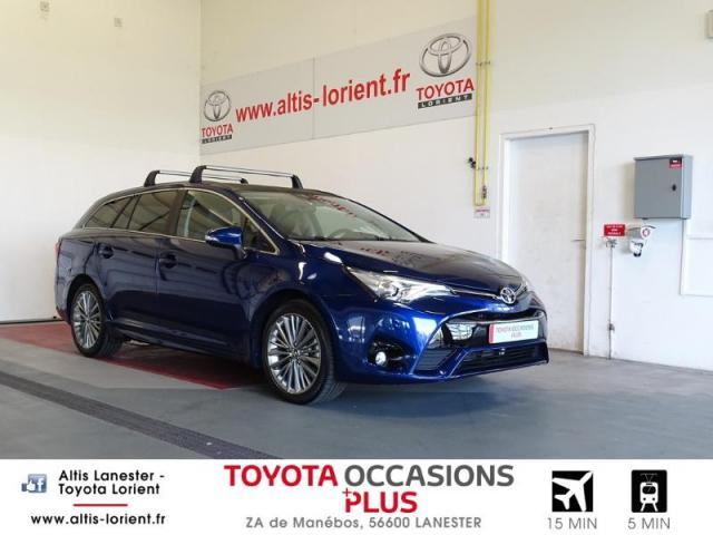 voiture occasion toyota avensis 143 d 4d executive 2016 diesel 56600 lanester morbihan. Black Bedroom Furniture Sets. Home Design Ideas