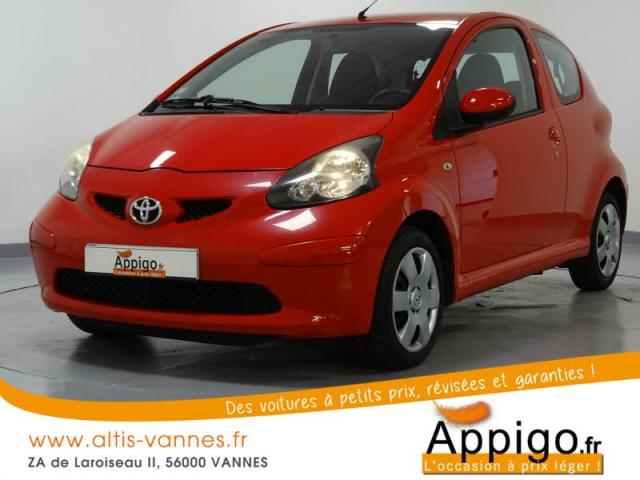 voiture occasion toyota aygo 1 4 d 54ch up 3p 2007 diesel 56000 vannes morbihan votreautofacile. Black Bedroom Furniture Sets. Home Design Ideas