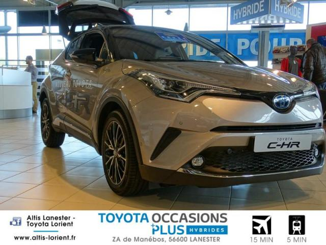 voiture occasion toyota c hr 122h collection 2wd e cvt 2018 hybride 56600 lanester morbihan. Black Bedroom Furniture Sets. Home Design Ideas