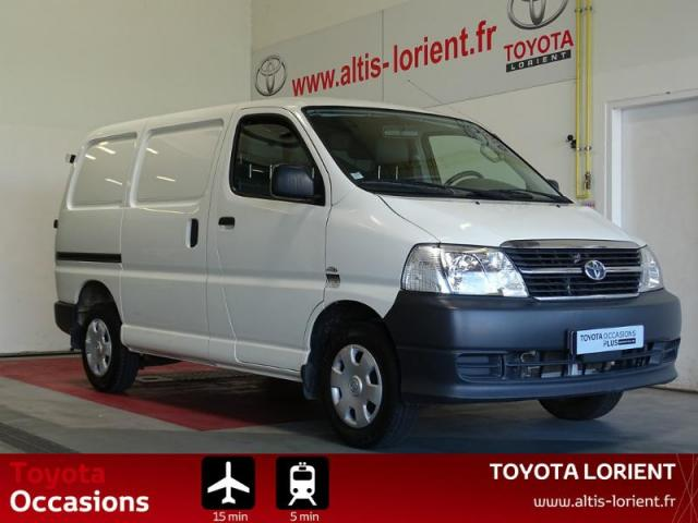voiture occasion toyota hi ace 95 d 4d court 2010 diesel. Black Bedroom Furniture Sets. Home Design Ideas