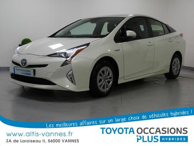 voiture occasion toyota prius 122h dynamic 2016 hybride 56000 vannes morbihan votreautofacile. Black Bedroom Furniture Sets. Home Design Ideas