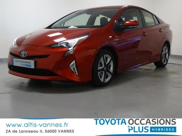 voiture occasion toyota prius 122h dynamic pack premium rc18 2017 hybride 56000 vannes morbihan. Black Bedroom Furniture Sets. Home Design Ideas