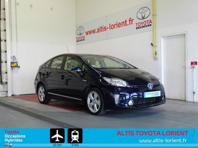 voiture occasion toyota prius 136h lounge 17 2013 hybride 56600 lanester morbihan votreautofacile. Black Bedroom Furniture Sets. Home Design Ideas