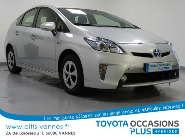 voiture occasion toyota prius 136h dynamic 2012 hybride 56000 vannes morbihan votreautofacile. Black Bedroom Furniture Sets. Home Design Ideas