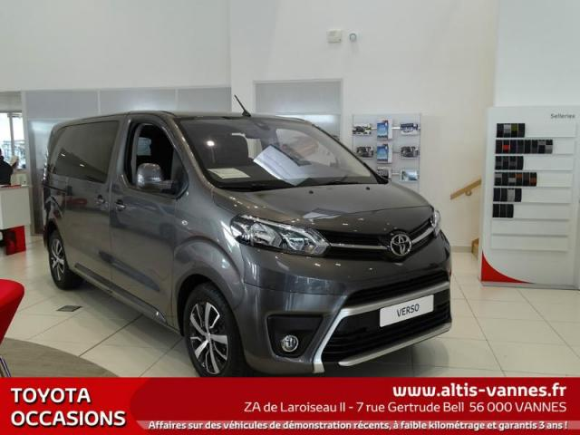 voiture occasion toyota proace medium 115 d4d dynamic 8pl 2017 diesel 56000 vannes morbihan. Black Bedroom Furniture Sets. Home Design Ideas