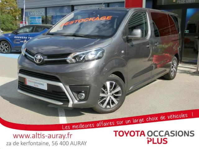 voiture occasion toyota proace medium 150 d 4d executive. Black Bedroom Furniture Sets. Home Design Ideas