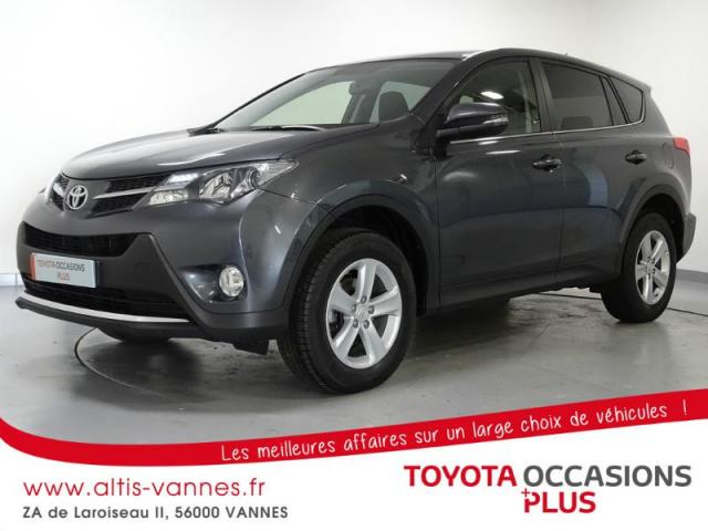voiture occasion toyota rav4 124 d 4d life 2wd 2013 diesel 56000 vannes morbihan votreautofacile. Black Bedroom Furniture Sets. Home Design Ideas