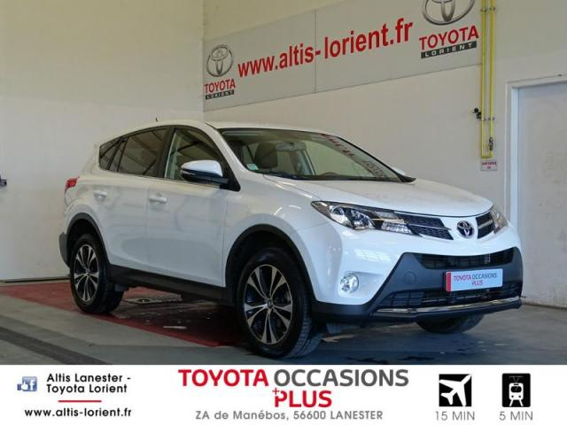 voiture occasion toyota rav4 124 d 4d life 2wd 2015 diesel 56600 lanester morbihan votreautofacile. Black Bedroom Furniture Sets. Home Design Ideas