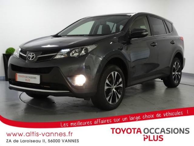 voiture occasion toyota rav4 124 d 4d life 2wd 2015 diesel 56000 vannes morbihan votreautofacile. Black Bedroom Furniture Sets. Home Design Ideas