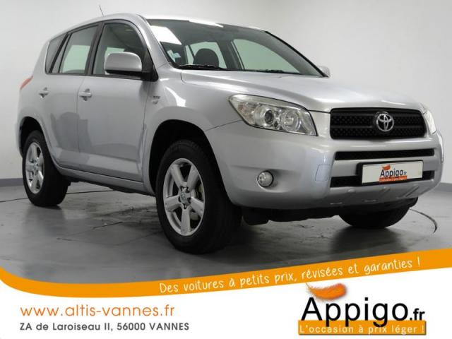 voiture occasion toyota rav4 136 d 4d vx 2007 diesel 56000 vannes morbihan votreautofacile. Black Bedroom Furniture Sets. Home Design Ideas