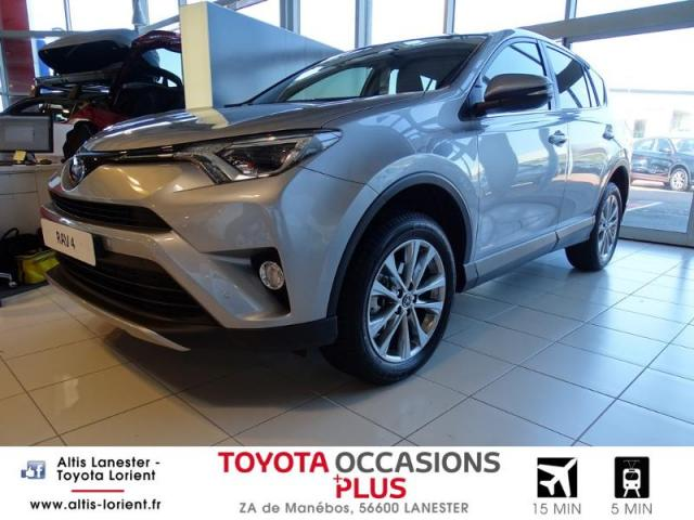 voiture occasion toyota rav4 143 d 4d dynamic edition 2wd 2018 diesel 56600 lanester morbihan. Black Bedroom Furniture Sets. Home Design Ideas