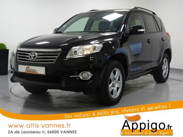 voiture occasion toyota rav4 150 d 4d lecap 4wd 2011 diesel 56000 vannes morbihan votreautofacile. Black Bedroom Furniture Sets. Home Design Ideas