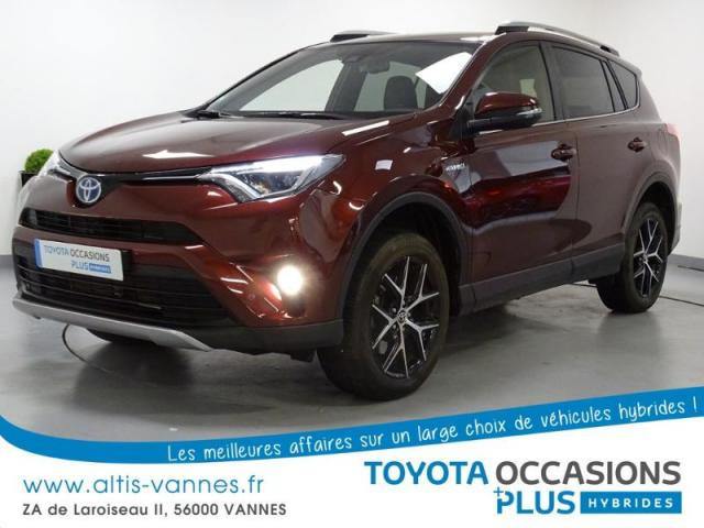 voiture occasion toyota rav4 197 hybride design 2wd cvt 2016 hybride 56000 vannes morbihan. Black Bedroom Furniture Sets. Home Design Ideas