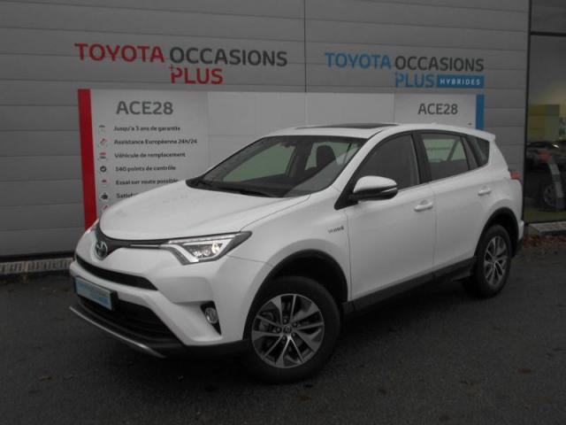 voiture occasion toyota rav4 197 hybride dynamic 2wd cvt 2016 hybride 28500 vernouillet eure et. Black Bedroom Furniture Sets. Home Design Ideas