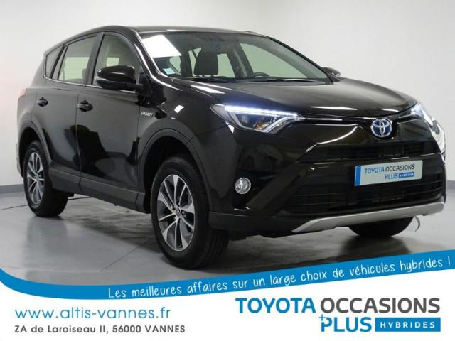 voiture occasion toyota rav4 197 hybride dynamic awd cvt 2016 hybride 56000 vannes morbihan. Black Bedroom Furniture Sets. Home Design Ideas