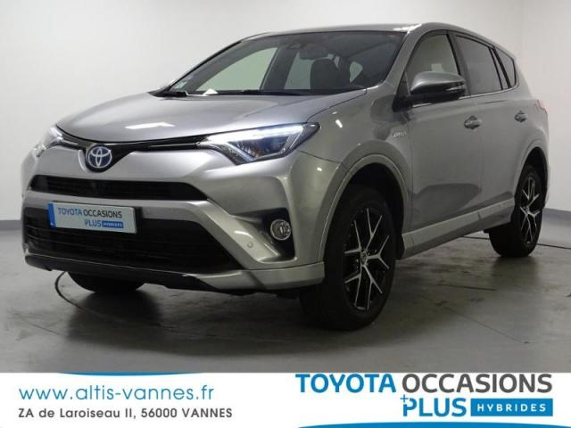 voiture occasion toyota rav4 197 hybride exclusive 2wd cvt 2016 hybride 56000 vannes morbihan. Black Bedroom Furniture Sets. Home Design Ideas