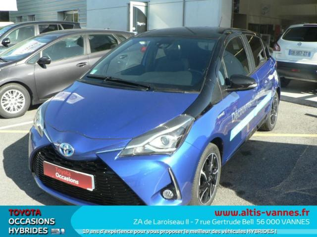 voiture occasion toyota yaris 100h collection 5p 2017 hybride 56000 vannes morbihan. Black Bedroom Furniture Sets. Home Design Ideas