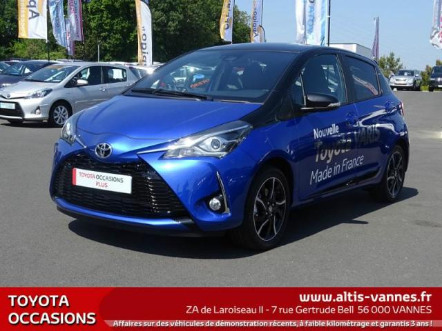 voiture occasion toyota yaris 110 vvt i collection 5p 2017 essence 56000 vannes morbihan. Black Bedroom Furniture Sets. Home Design Ideas