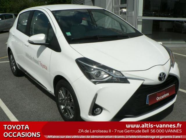 voiture occasion toyota yaris 110 vvt i dynamic 5p 2017 essence 56000 vannes morbihan. Black Bedroom Furniture Sets. Home Design Ideas