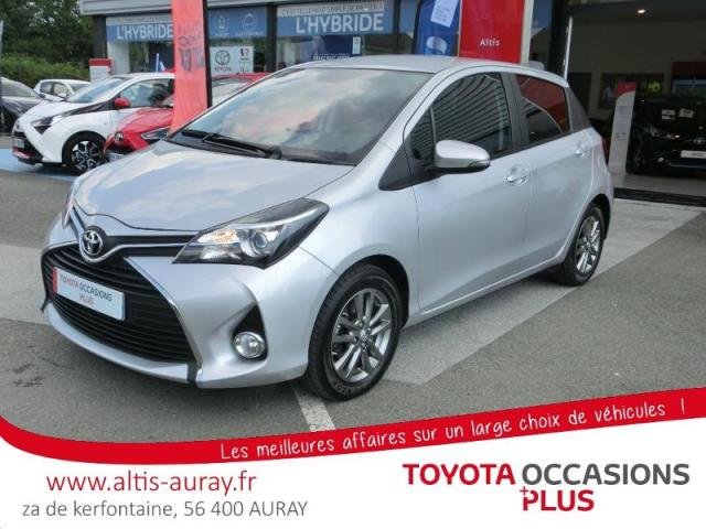 voiture occasion toyota yaris 69 vvt i dynamic 5p 2017 essence 56400 pluneret morbihan. Black Bedroom Furniture Sets. Home Design Ideas