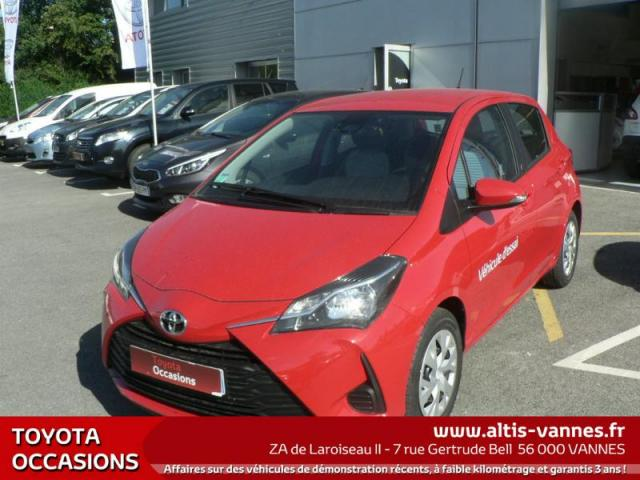 voiture occasion toyota yaris 69 vvt i france 5p 2017 essence 56000 vannes morbihan. Black Bedroom Furniture Sets. Home Design Ideas