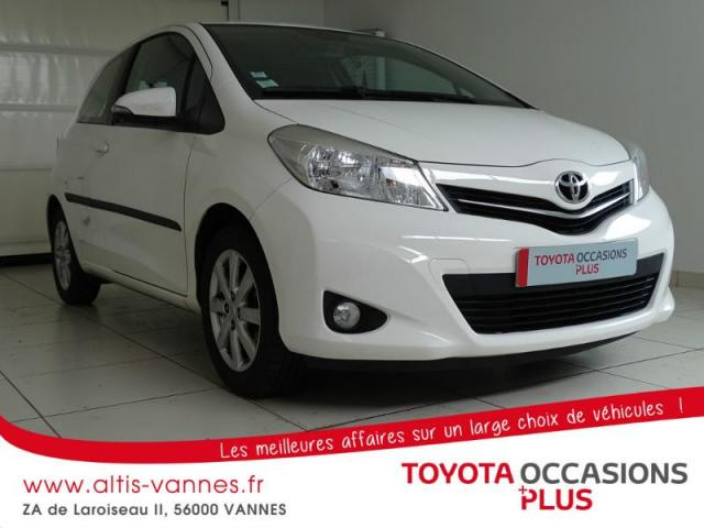 voiture occasion toyota yaris 69 vvt i tendance 3p 2012 essence 56000 vannes morbihan. Black Bedroom Furniture Sets. Home Design Ideas