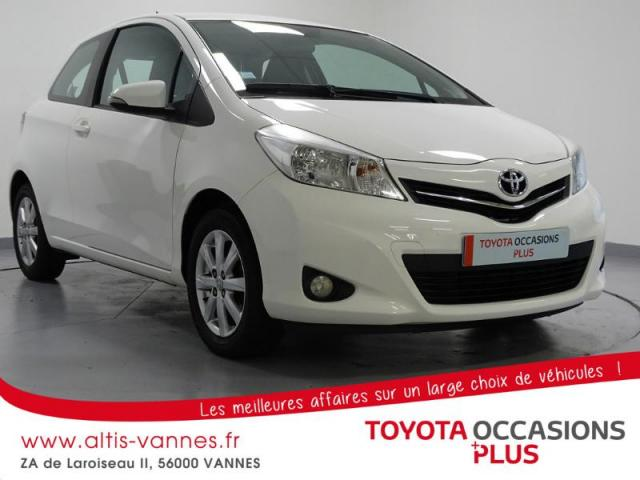 voiture occasion toyota yaris 69 vvt i tendance 3p 2012. Black Bedroom Furniture Sets. Home Design Ideas