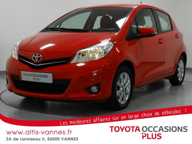 voiture occasion toyota yaris 69 vvt i tendance 5p 2014 essence 56000 vannes morbihan. Black Bedroom Furniture Sets. Home Design Ideas