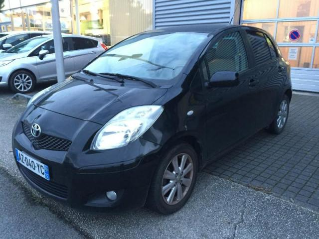 voiture occasion toyota yaris 90 d 4d lounge 5p 2010 diesel 44600 saint nazaire loire atlantique. Black Bedroom Furniture Sets. Home Design Ideas