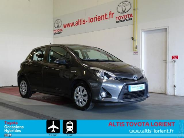 voiture occasion toyota yaris hsd 100h business 5p 2014 hybride 56600 lanester morbihan. Black Bedroom Furniture Sets. Home Design Ideas