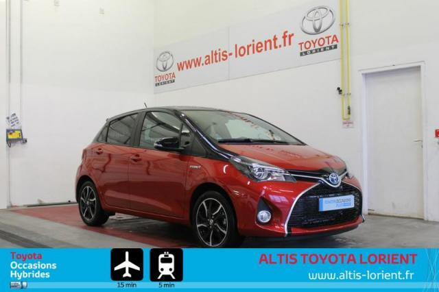 voiture occasion toyota yaris hsd 100h collection 5p 2016 hybride 56600 lanester morbihan. Black Bedroom Furniture Sets. Home Design Ideas