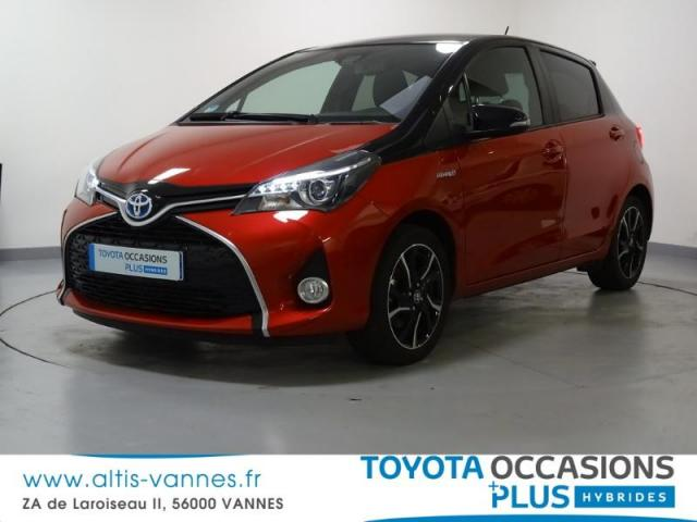 voiture occasion toyota yaris hsd 100h collection 5p 2016 hybride 56000 vannes morbihan. Black Bedroom Furniture Sets. Home Design Ideas