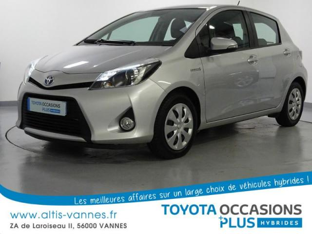 voiture occasion toyota yaris hsd 100h dynamic 5p 2012. Black Bedroom Furniture Sets. Home Design Ideas
