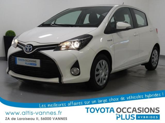 voiture occasion toyota yaris hsd 100h dynamic 5p 2015 hybride 56000 vannes morbihan. Black Bedroom Furniture Sets. Home Design Ideas
