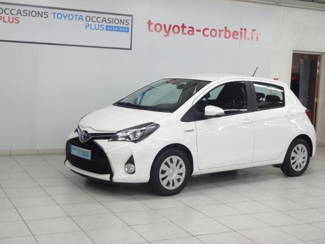 voiture occasion toyota yaris hsd 100h france 5p 2015 hybride 91100 corbeil essonnes essonne. Black Bedroom Furniture Sets. Home Design Ideas