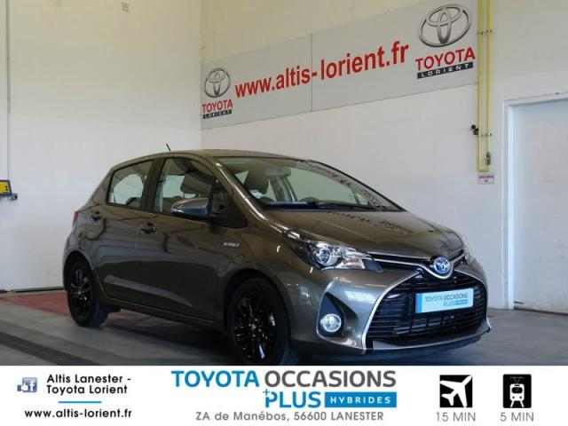 voiture occasion toyota yaris hsd 100h dynamic 5p 2016 hybride 56600 lanester morbihan. Black Bedroom Furniture Sets. Home Design Ideas
