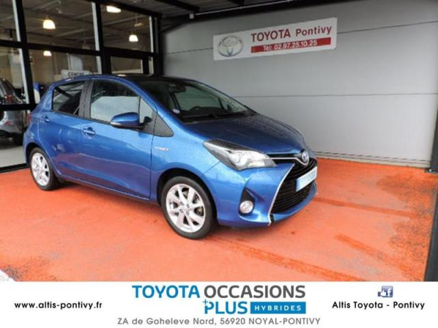 voiture occasion toyota yaris hsd 100h skyblue 5p 2015 hybride 56920 noyal pontivy morbihan. Black Bedroom Furniture Sets. Home Design Ideas