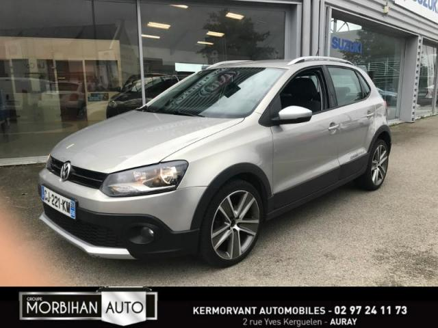 voiture occasion volkswagen cross polo 1 6 tdi 90ch fap 5p 2012 diesel 56400 auray morbihan. Black Bedroom Furniture Sets. Home Design Ideas
