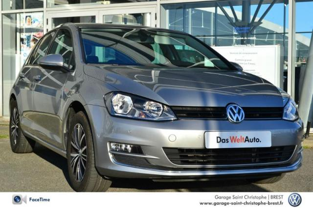 Voiture occasion volkswagen golf 1 2 tsi 110ch bluemotion for Garage volkswagen 77 saint thibault