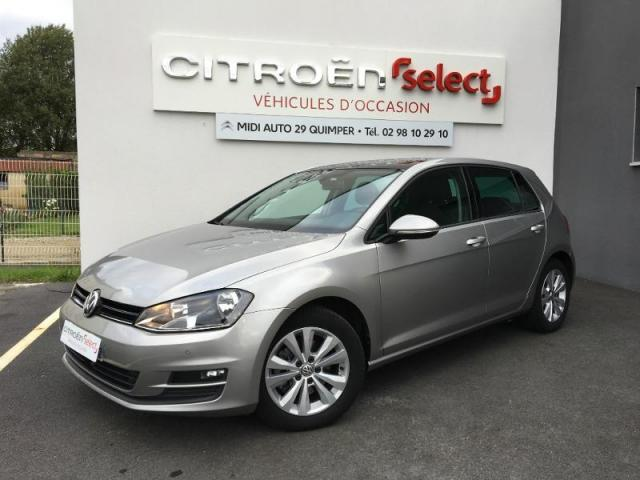 voiture occasion volkswagen golf 1 4 tsi 140 confortline dsg7 options 2013 essence 29000 quimper. Black Bedroom Furniture Sets. Home Design Ideas