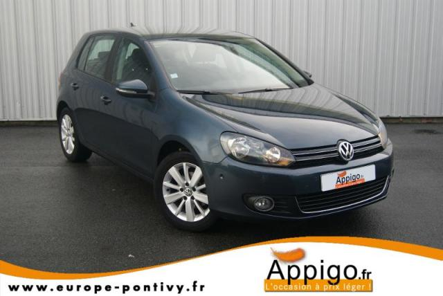 voiture occasion volkswagen golf 1 6 tdi 105ch bluemotion. Black Bedroom Furniture Sets. Home Design Ideas