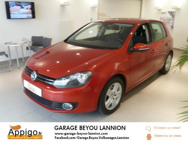 voiture occasion volkswagen golf 2 0 tdi 110ch fap confortline 5p 2009 diesel 22300 lannion. Black Bedroom Furniture Sets. Home Design Ideas