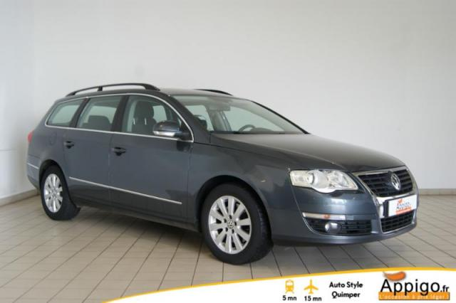 voiture occasion volkswagen passat sw 2 0 tdi 140ch confortline 2008 diesel 29000 quimper. Black Bedroom Furniture Sets. Home Design Ideas