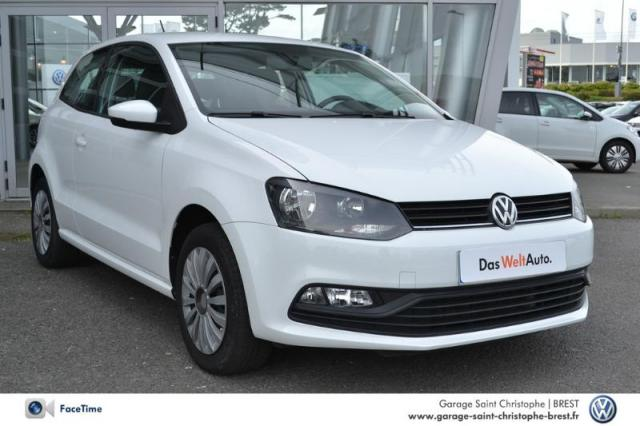 voiture occasion volkswagen polo 1 0 60ch trendline 3p 2014 essence 29200 brest finist re. Black Bedroom Furniture Sets. Home Design Ideas