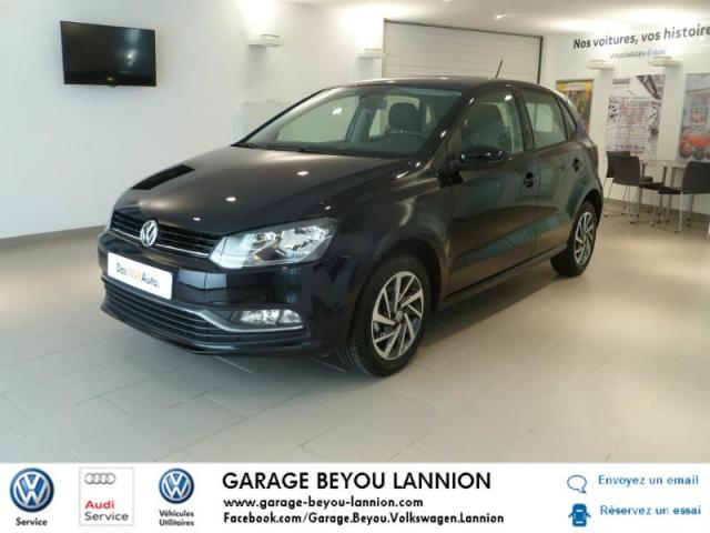 Voiture occasion volkswagen polo 1 0 75ch match 5p 2017 for Garage peugeot lannion 22300