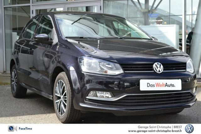 voiture occasion volkswagen polo 1 2 tsi 90ch bluemotion technology allstar 5p 2016 essence. Black Bedroom Furniture Sets. Home Design Ideas